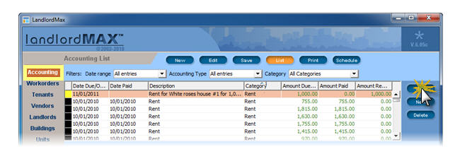LandlordMax Property Management Software: latefee1