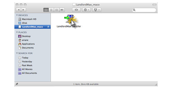 LandlordMax Property Management Software:Install/Mac/Installer