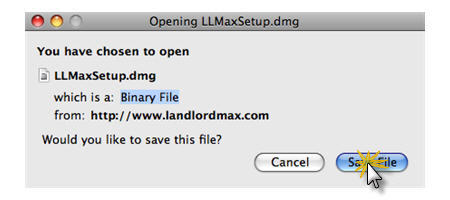 LandlordMax Property Management Software:Install/Mac/Save