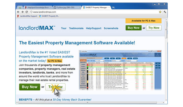 LandlordMax Property ManaNowgement Software: Try