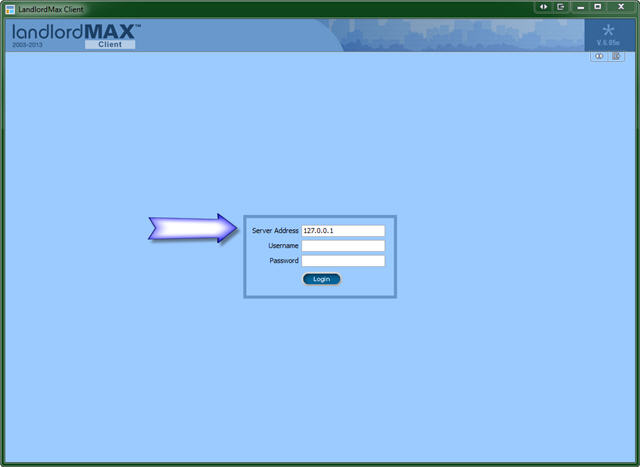 LandlordMax Property Management Software: Client Login